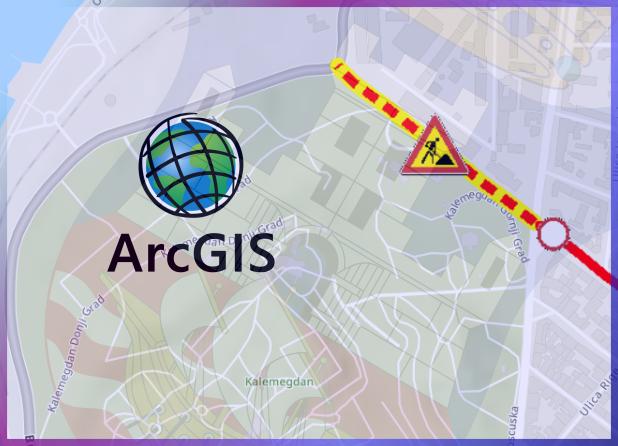 ГИС мапа привремене измене режима саобраћаја
