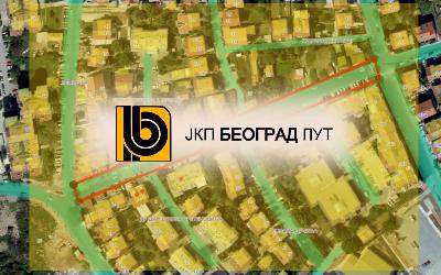 Радови у Карађорђевој улици на Умци, ГО Чукарица