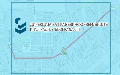 Затворене за саобраћај улице Тамишка, Семберијска и Сурчински пут