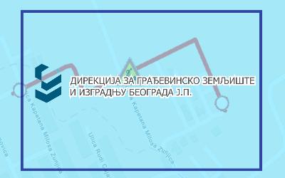 Затворена за саобраћај улица Капетана Милоша Жуњића