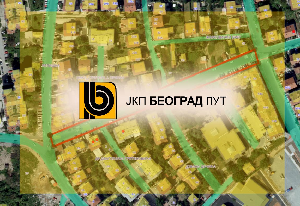 Радови у Миле Димић