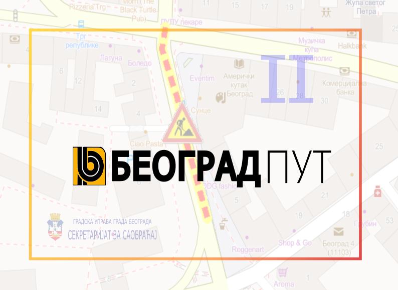 Измена режима саобраћаја у Дечанској улици