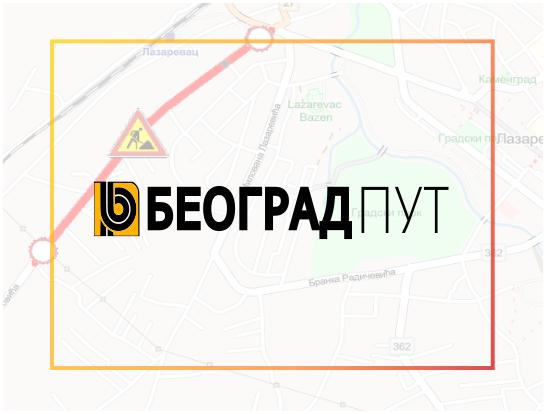 Наставак радова у улици Владике Николаја Велимировића у Лазаревцу