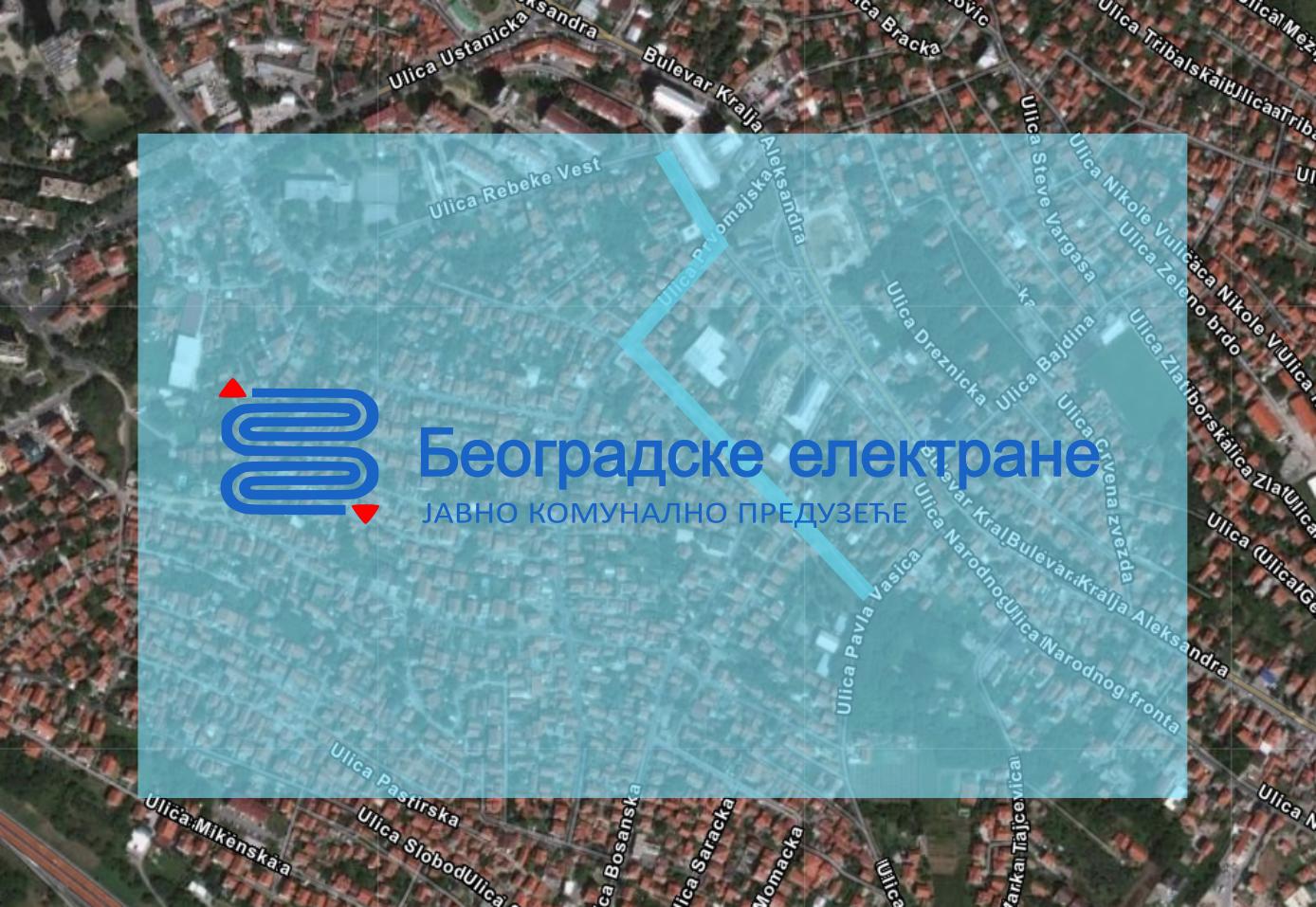 Затворене за саобраћај улице Живка Давидовића, Првомајска и Хазарска