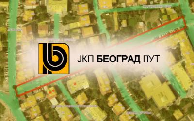 Радови у улици Жељка Миливојевића
