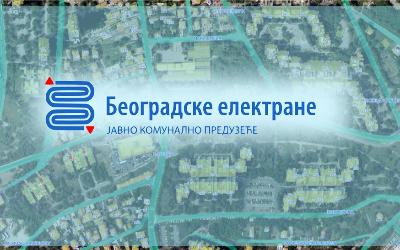 Радови на изградњи топловода у Дунавској