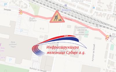 Затворена за саобраћај Змајева улица у Земуну