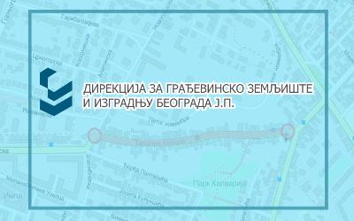 Затворена за саобраћај улица Теодора Херцла