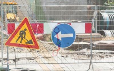 Улица Сање Живановић у зони пружног прелаза затворена за саобраћај