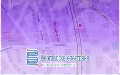 Затворена за саобраћај улица Николаја Гогоља